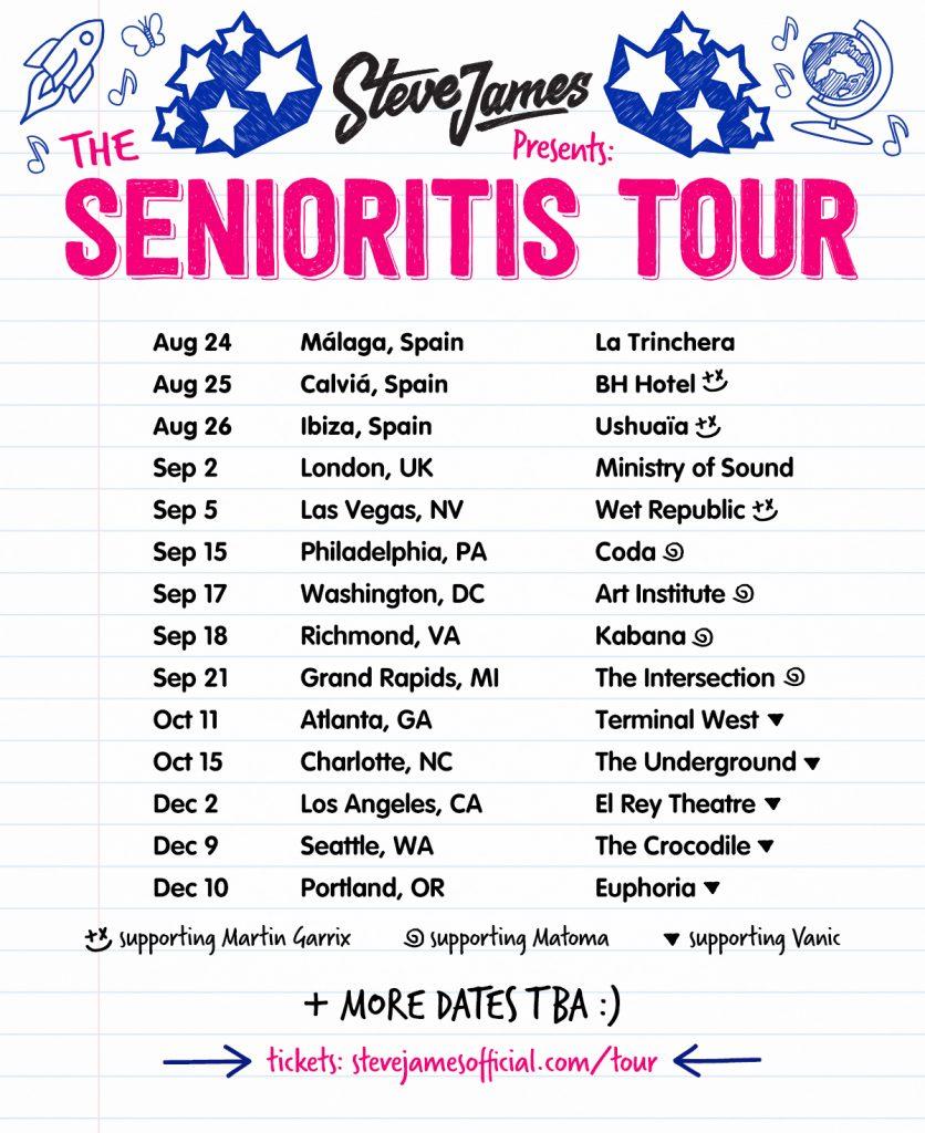 Senioritis Tour